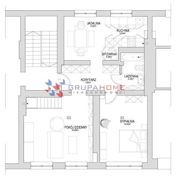 Mieszkanie trzypokojowe na sprzedaż Konstancin-Jeziorna, Wilanowska  72m2 Foto 7