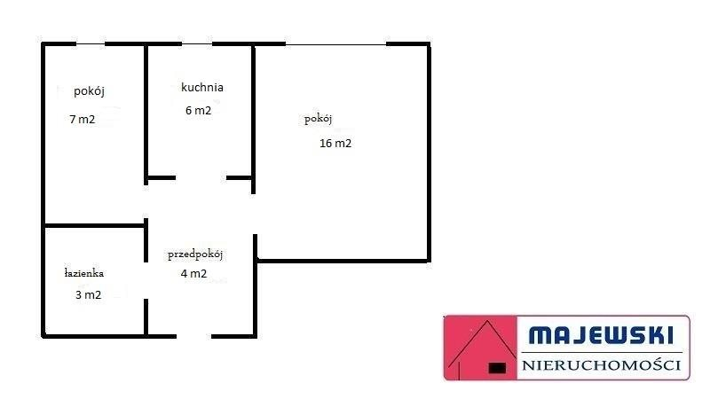 Mieszkanie dwupokojowe na sprzedaż Skawina, 29 Listopada  36m2 Foto 9