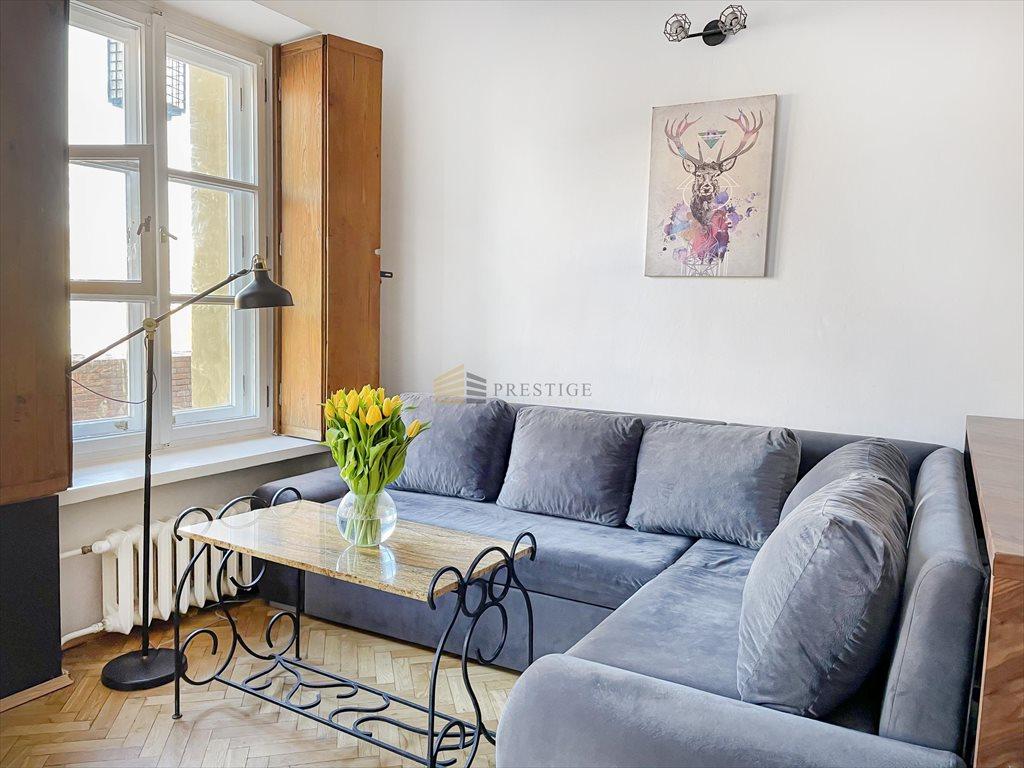 Mieszkanie trzypokojowe na sprzedaż Warszawa, Śródmieście, Stare Miasto, Krzywe Koło  42m2 Foto 2