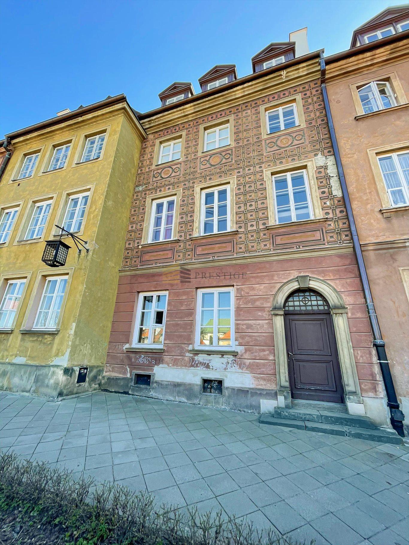 Mieszkanie trzypokojowe na sprzedaż Warszawa, Śródmieście, Stare Miasto, Krzywe Koło  42m2 Foto 10