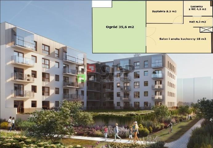 Mieszkanie dwupokojowe na sprzedaż Wrocław, Krzyki, Krzyki  36m2 Foto 1