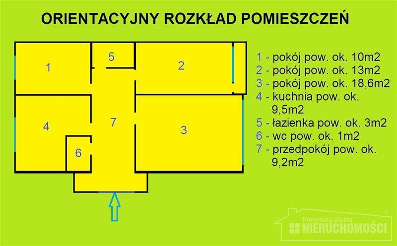 Mieszkanie trzypokojowe na sprzedaż Szczecinek, Las, Przystanek autobusowy, Pilska  65m2 Foto 12