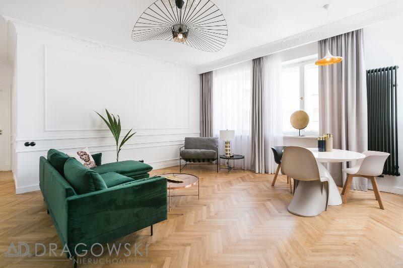 Mieszkanie trzypokojowe na wynajem Warszawa, Śródmieście, Wiejska  70m2 Foto 1