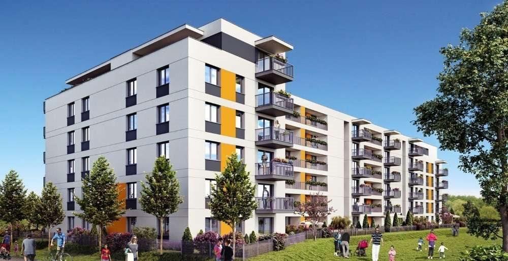 Mieszkanie dwupokojowe na sprzedaż Poznań, Malta  47m2 Foto 1