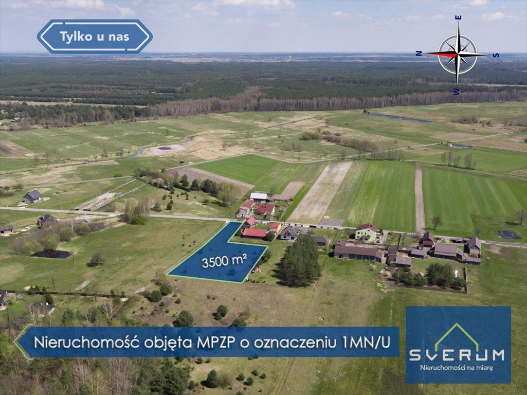 Działka budowlana na sprzedaż Wola Mokrzeska, Leśna  3500m2 Foto 3