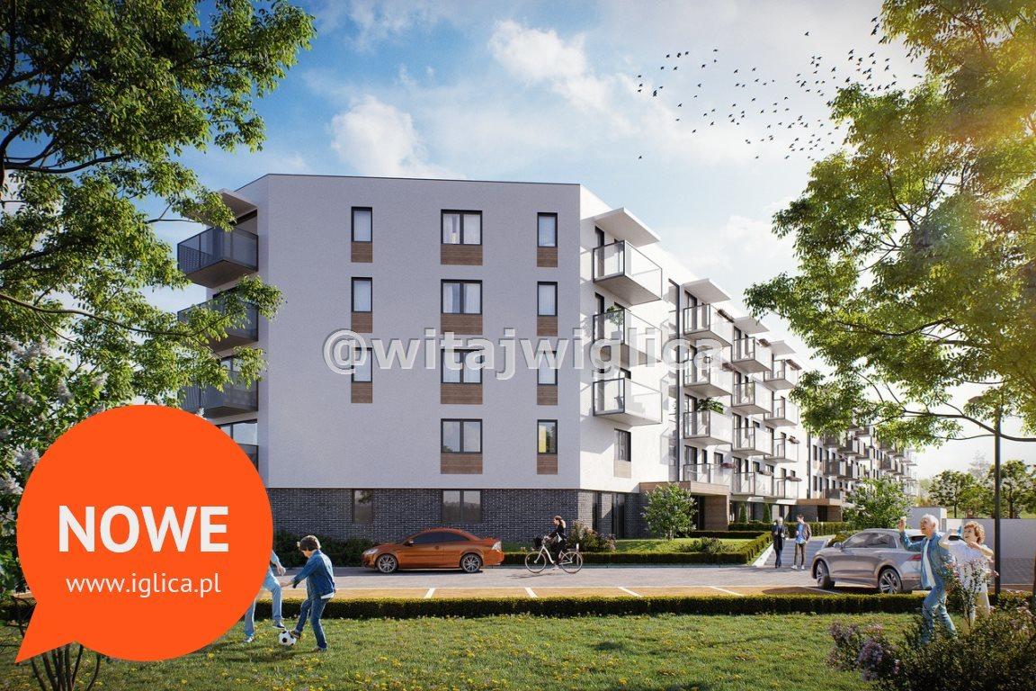 Mieszkanie trzypokojowe na sprzedaż Wrocław, Krzyki, Klecina, Jutrzenki  52m2 Foto 2