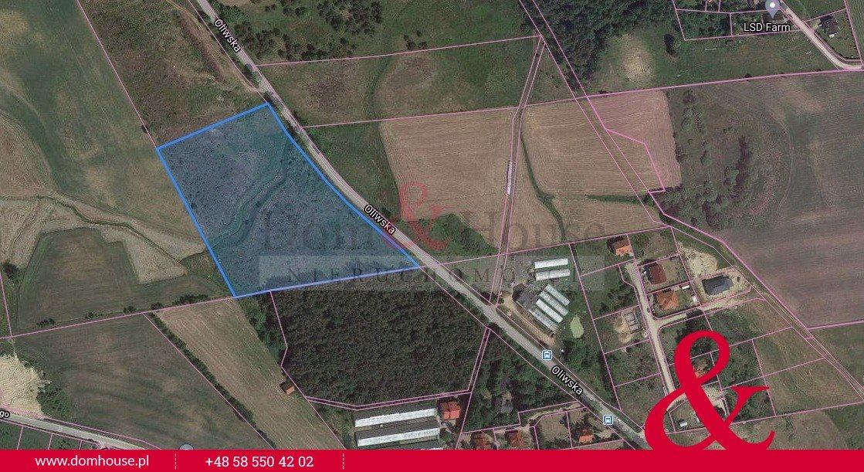 Działka inwestycyjna na sprzedaż Kielno, Oliwska  21000m2 Foto 4