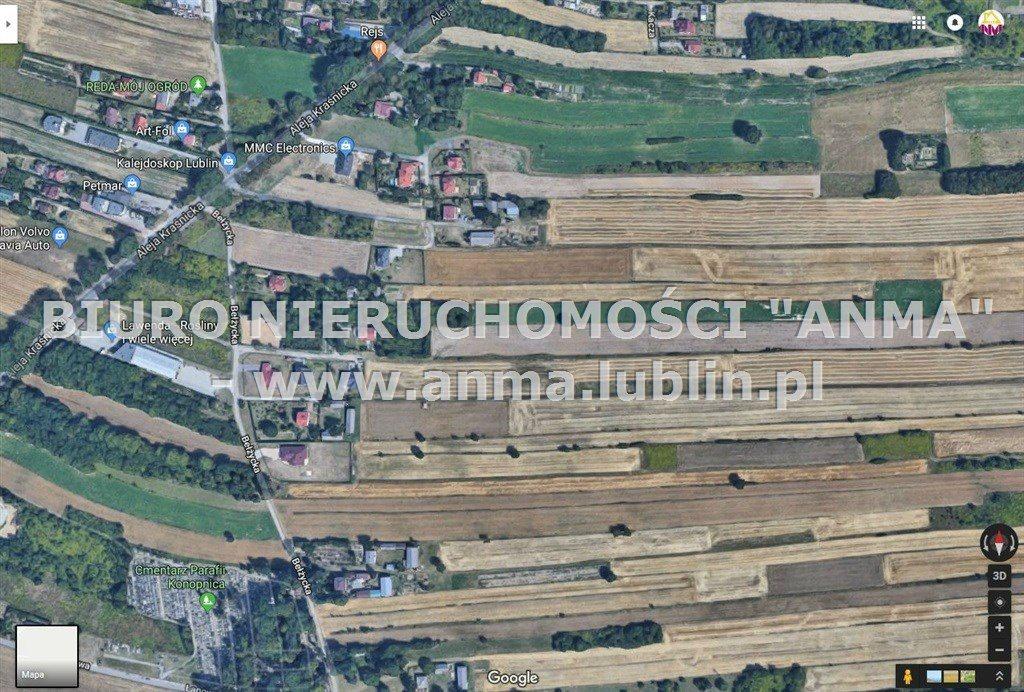Działka budowlana na sprzedaż Lublin, Węglin, Węglinek, Rysia  1700m2 Foto 1