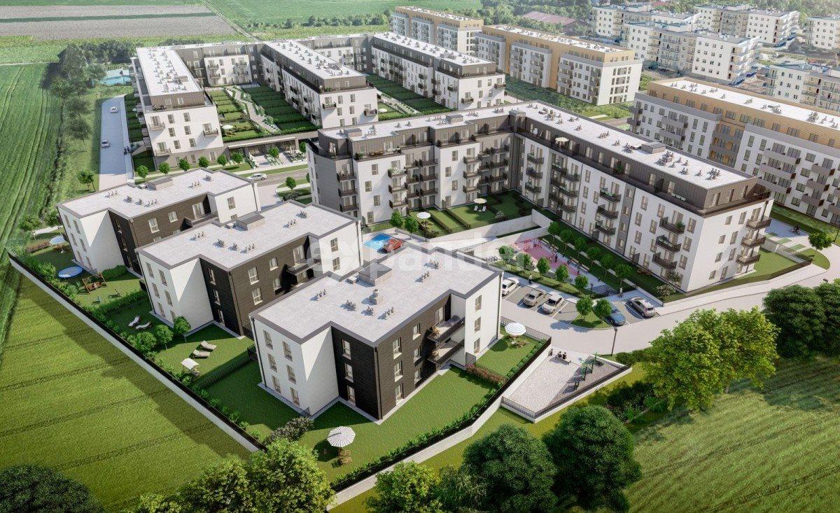 Mieszkanie trzypokojowe na sprzedaż Wrocław, Jagodno  55m2 Foto 4