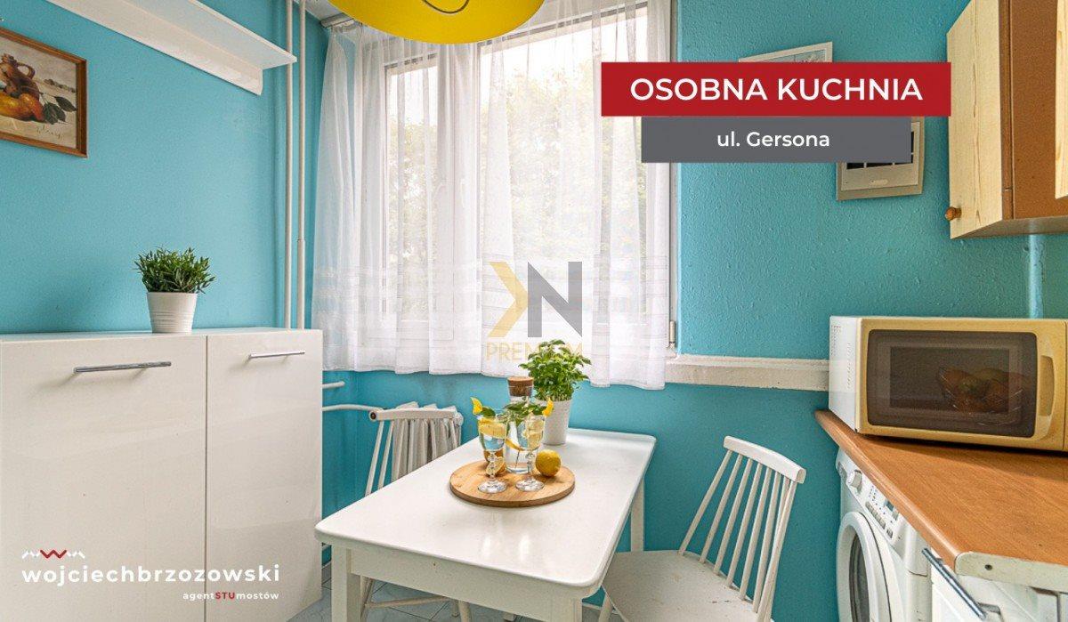 Mieszkanie trzypokojowe na sprzedaż Wrocław, Biskupin, Wojciecha Gersona  48m2 Foto 7