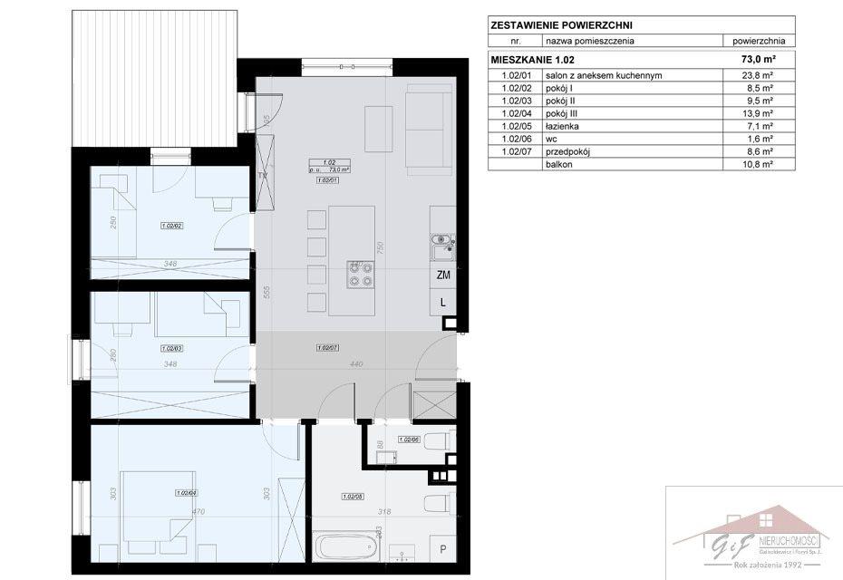 Mieszkanie czteropokojowe  na sprzedaż Przemyśl, Tatarska  73m2 Foto 7