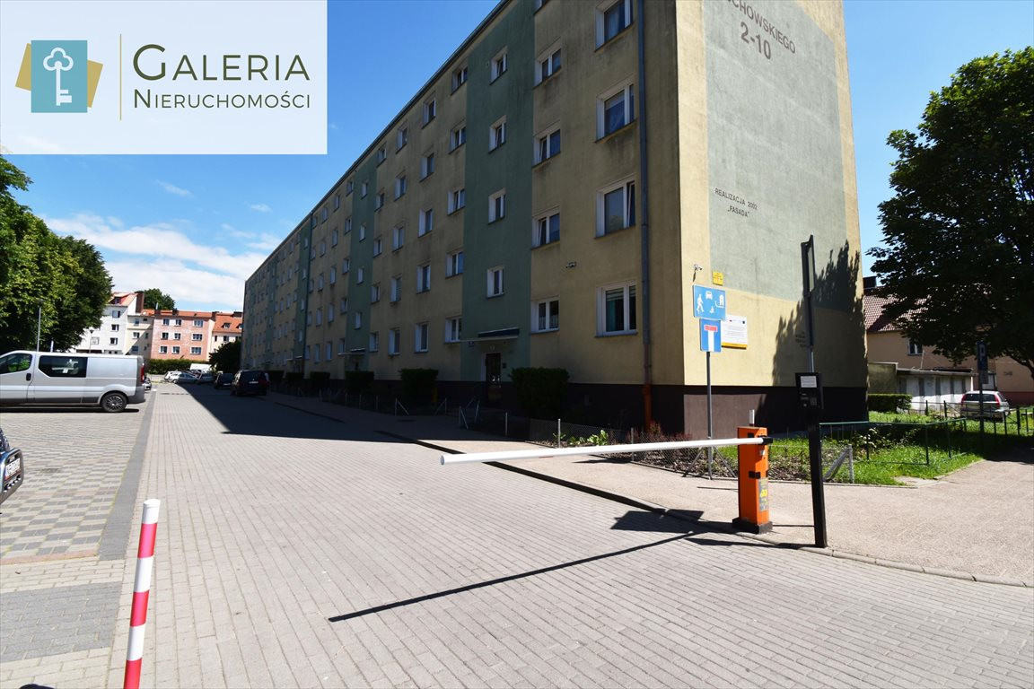 Mieszkanie dwupokojowe na sprzedaż Elbląg, Wojciecha Zajchowskiego  36m2 Foto 1