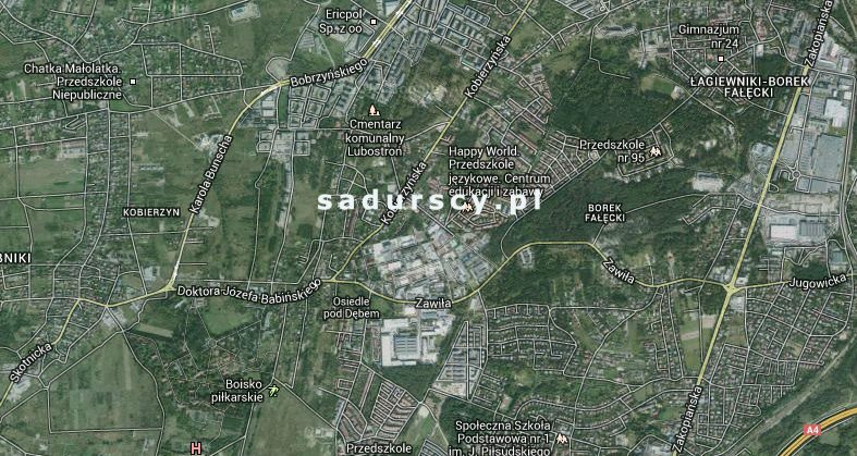 Działka komercyjna na sprzedaż Kraków, Podgórze, okolice Kobierzyńskiej  7000m2 Foto 1