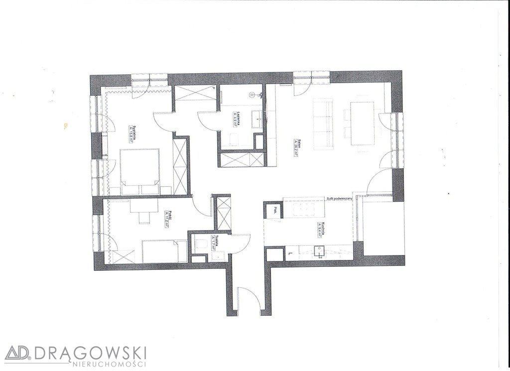 Mieszkanie trzypokojowe na sprzedaż Warszawa, Mokotów, Górny Mokotów, Wołoska  92m2 Foto 12