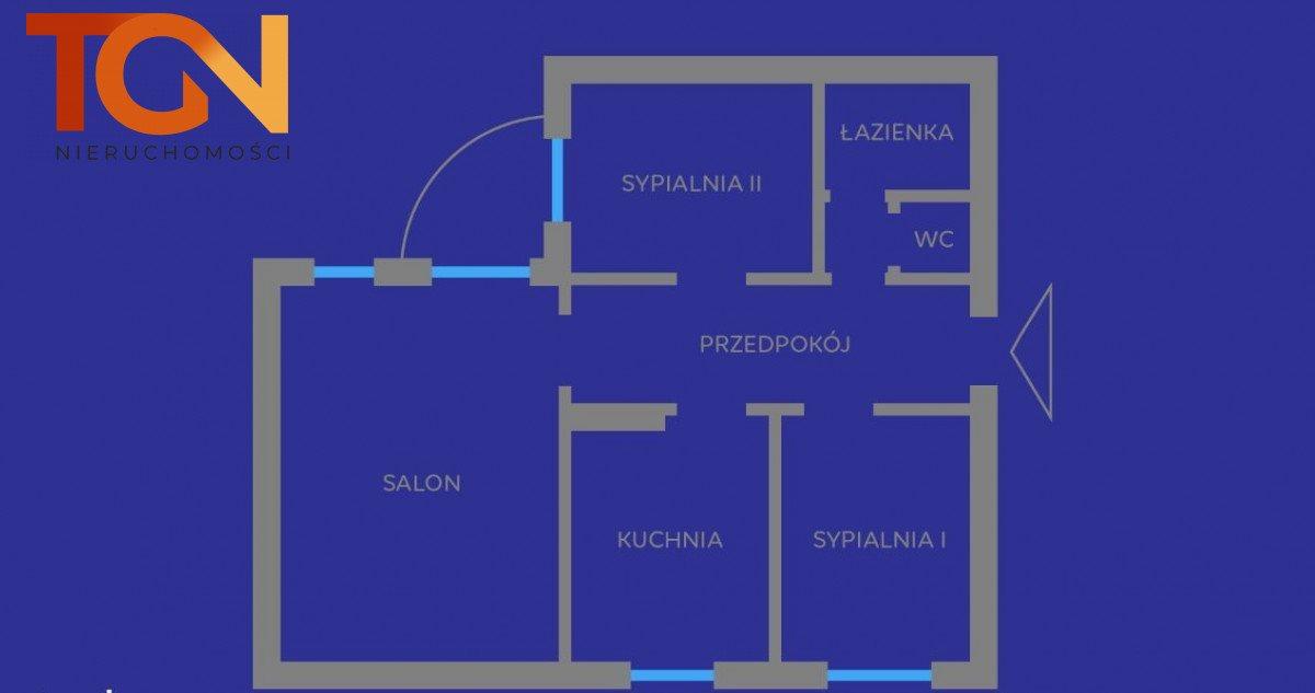 Mieszkanie trzypokojowe na sprzedaż Łódź, Bałuty, Liściasta  72m2 Foto 11