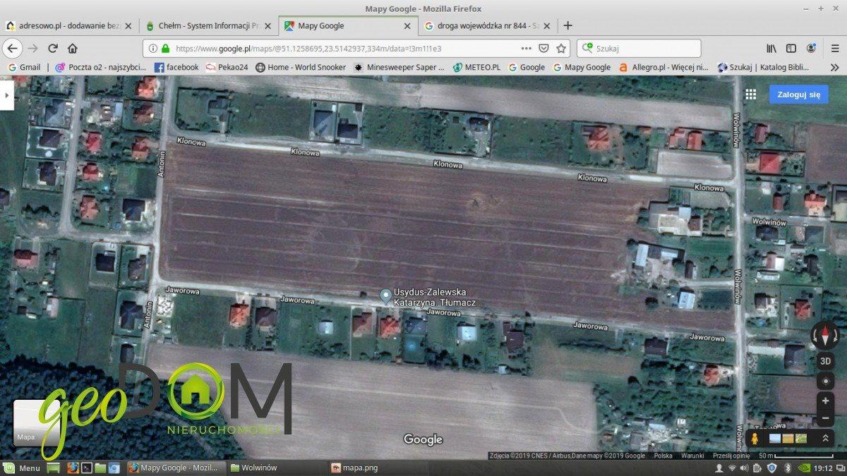 Działka budowlana na sprzedaż Chełm, Klonowa  900m2 Foto 4