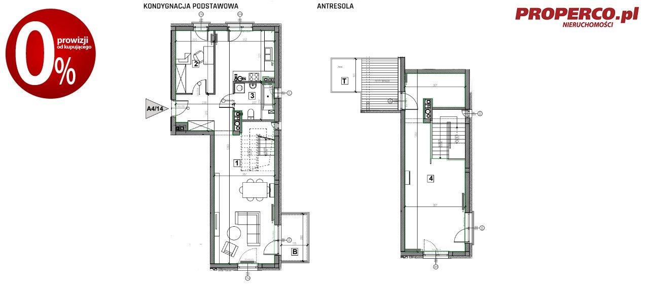 Mieszkanie trzypokojowe na sprzedaż Nowiny  91m2 Foto 9
