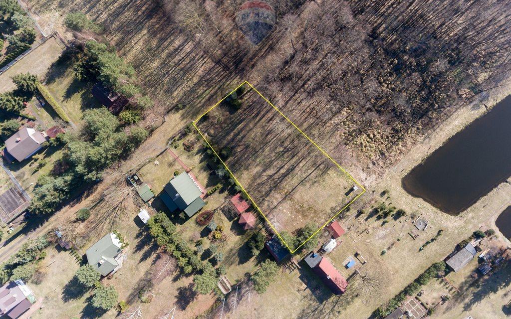 Działka rekreacyjna na sprzedaż Drzewociny  1486m2 Foto 3