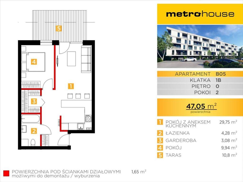 Mieszkanie dwupokojowe na sprzedaż Bielsko-Biała, Bielsko-Biała, Żywiecka  47m2 Foto 1