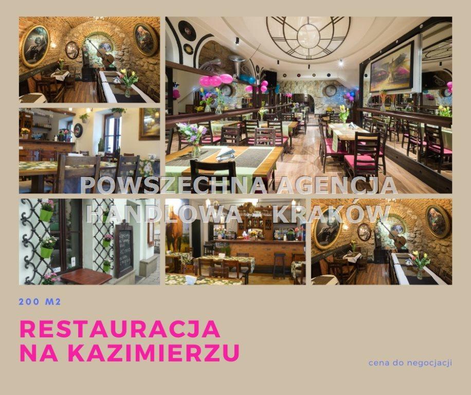 Lokal użytkowy na sprzedaż Kraków, Stare Miasto, Kazimierz  200m2 Foto 1