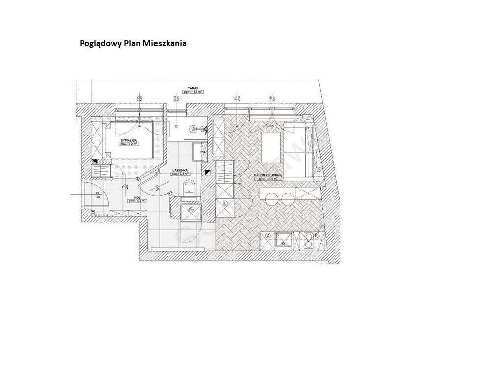Mieszkanie dwupokojowe na wynajem Warszawa, Śródmieście, Kopernika  26m2 Foto 10