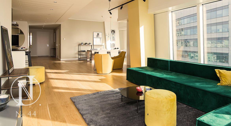 Luksusowe mieszkanie czteropokojowe  na wynajem Warszawa, Śródmieście, Złota 44  214m2 Foto 8