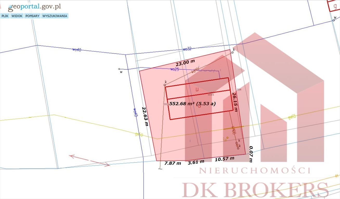 Działka komercyjna na sprzedaż Mała  60m2 Foto 1