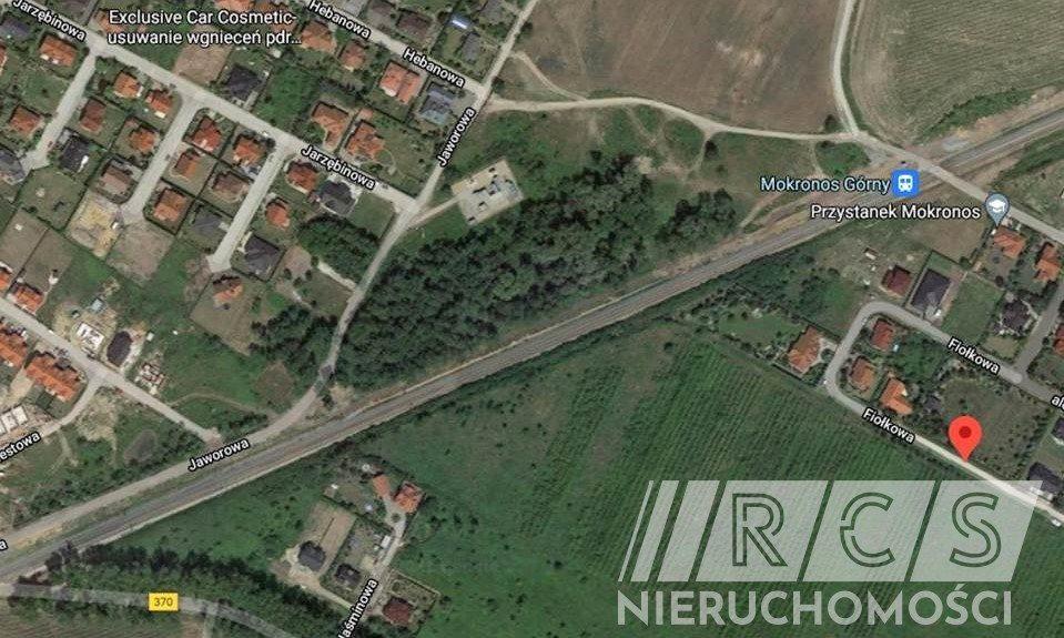 Działka budowlana na sprzedaż Mokronos Górny, Fiołkowa  2066m2 Foto 2