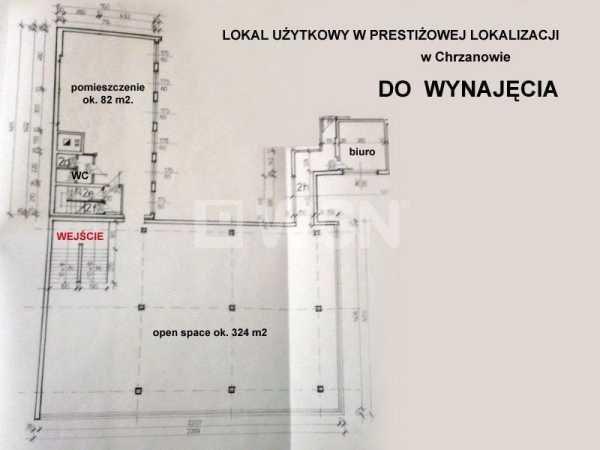 Lokal użytkowy na wynajem Chrzanów, Centrum miasta  437m2 Foto 1