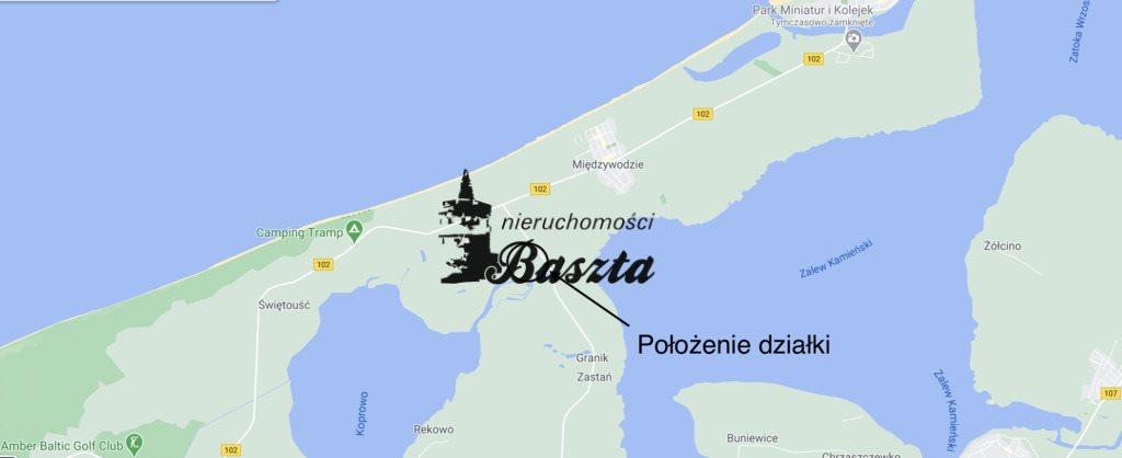 Działka budowlana na sprzedaż Międzywodzie  1829m2 Foto 2