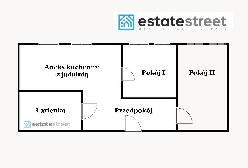 Mieszkanie dwupokojowe na sprzedaż Kraków, Ugorek, Ugorek, Ułanów  49m2 Foto 9