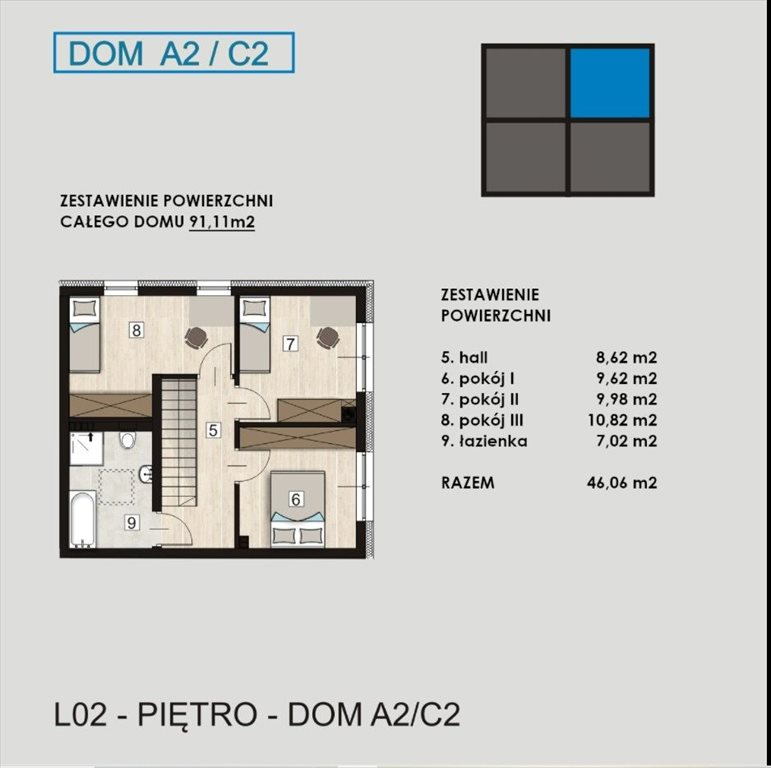 Dom na sprzedaż Gliwice, Łabędzka  91m2 Foto 6
