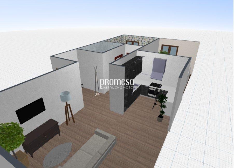 Mieszkanie trzypokojowe na sprzedaż Siechnice  58m2 Foto 2