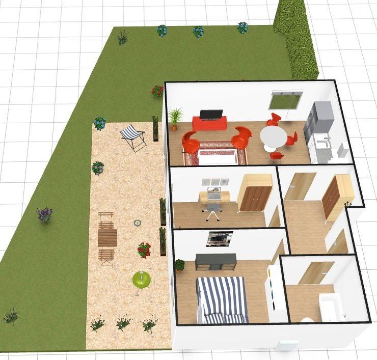 Mieszkanie trzypokojowe na sprzedaż Police  59m2 Foto 3