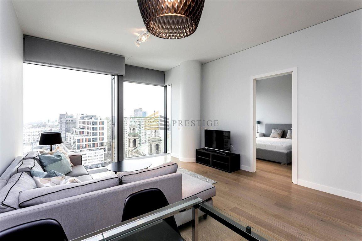 Mieszkanie dwupokojowe na wynajem Warszawa, Śródmieście, Mirów, Twarda  55m2 Foto 1