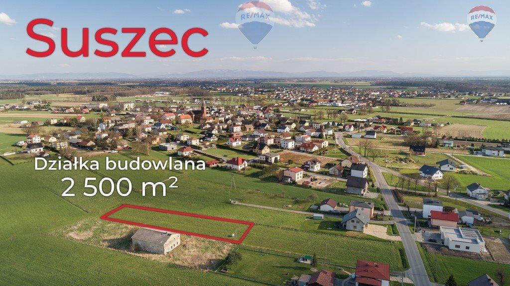 Działka budowlana na sprzedaż Suszec  2526m2 Foto 1