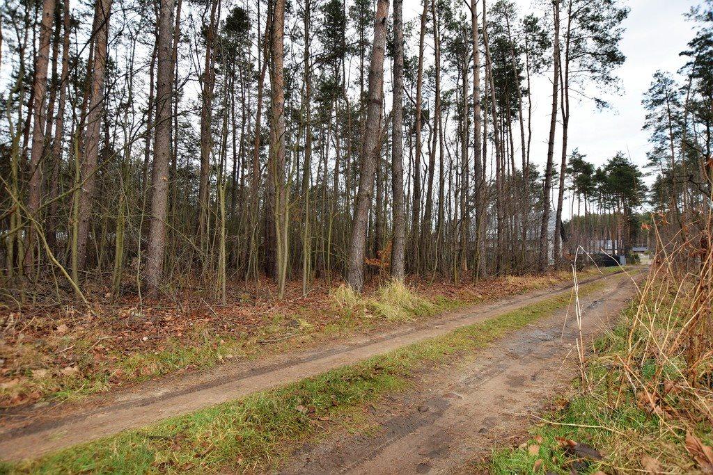 Działka leśna z prawem budowy na sprzedaż Zofiówka  1400m2 Foto 3