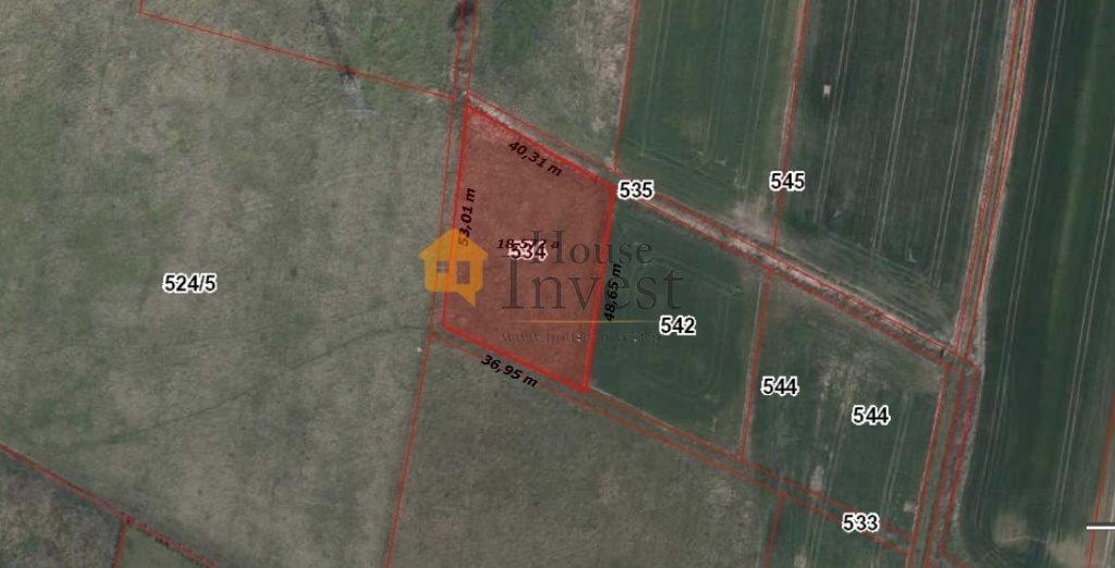 Działka budowlana na sprzedaż Grzymalin  1850m2 Foto 1