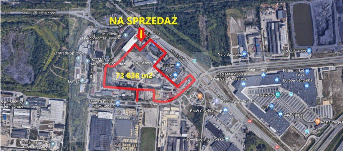 Lokal użytkowy na sprzedaż Gliwice, Pszczyńska  73638m2 Foto 1
