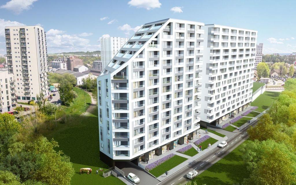 Mieszkanie dwupokojowe na sprzedaż Kraków, Śródmieście, Mogilska  39m2 Foto 1