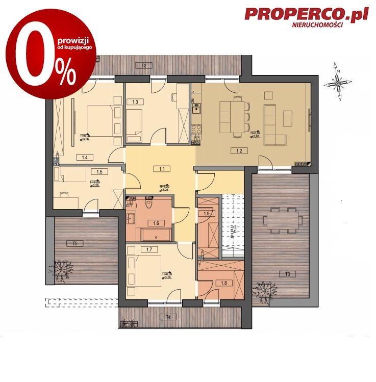 Mieszkanie na sprzedaż Kielce, Baranówek  116m2 Foto 5