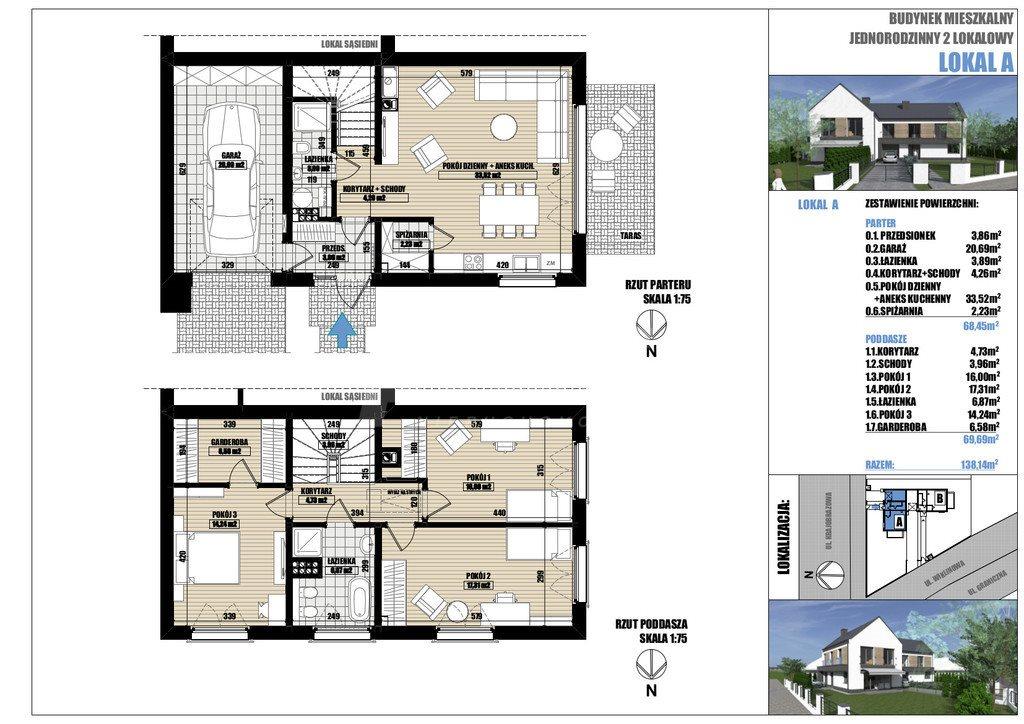 Dom na sprzedaż Dobra  138m2 Foto 3