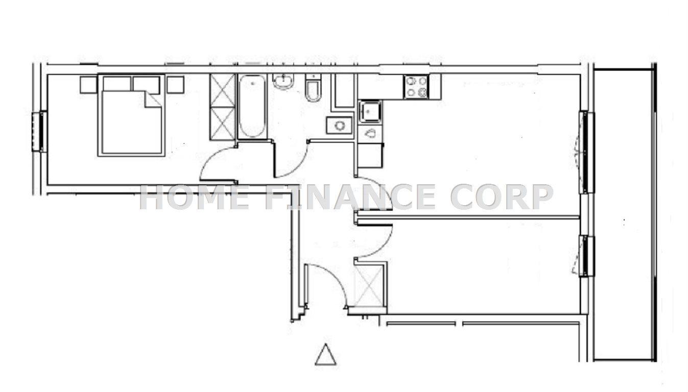 Mieszkanie trzypokojowe na sprzedaż Pruszków  53m2 Foto 2