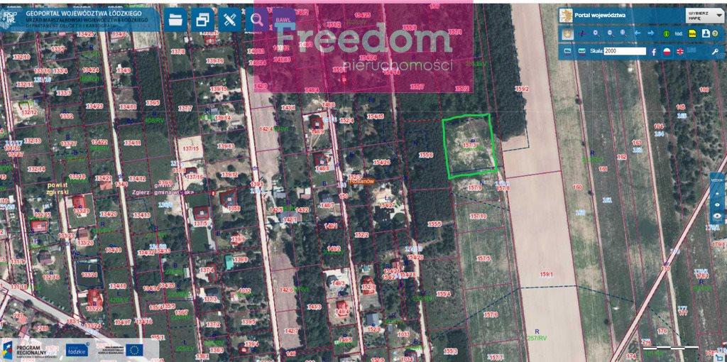 Działka budowlana na sprzedaż Rosanów  3167m2 Foto 7