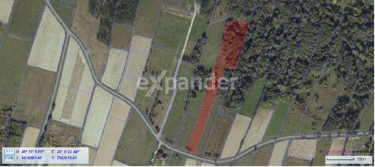 Działka rolna na sprzedaż Chmielnik  65m2 Foto 2