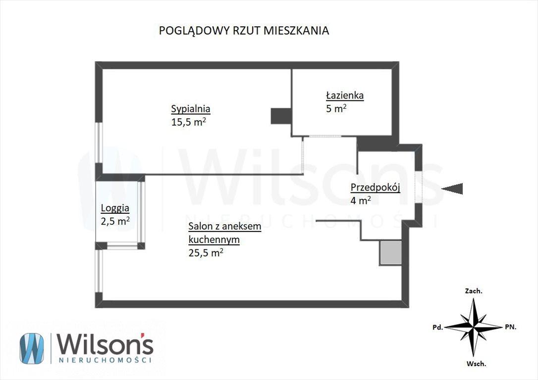 Mieszkanie dwupokojowe na sprzedaż Warszawa, Wola Mirów, Pańska  53m2 Foto 7