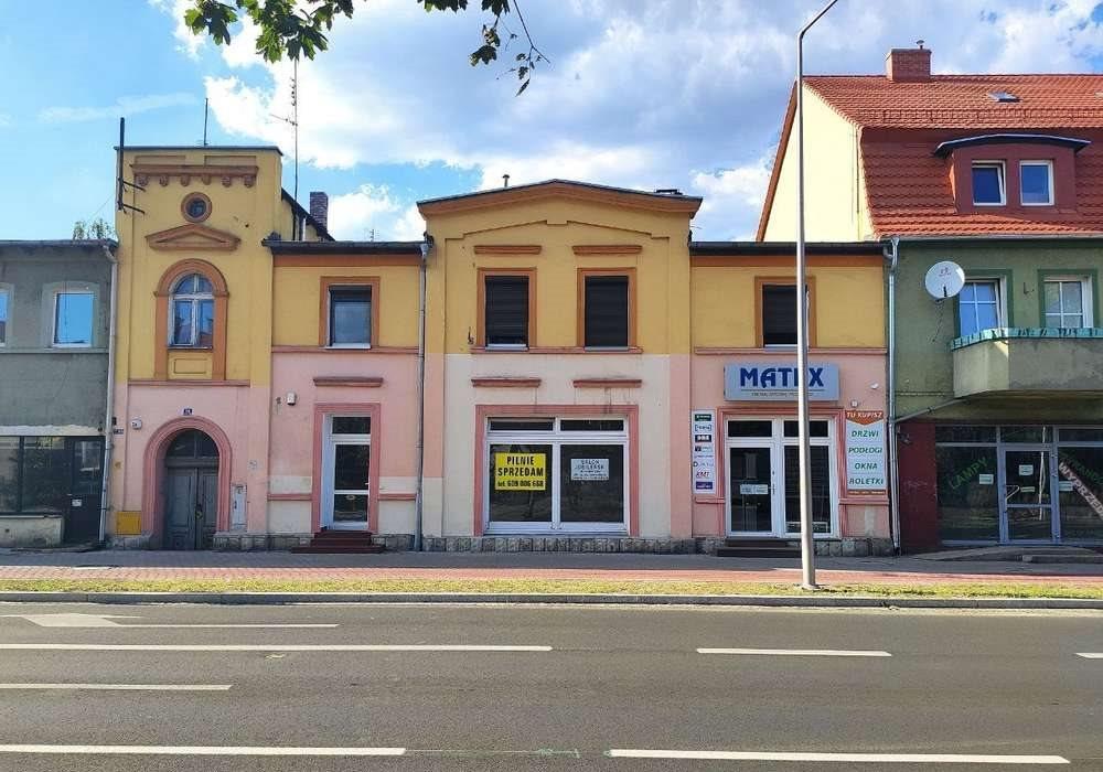 Lokal użytkowy na sprzedaż Nowa Sól, Wojska Polskiego 24  60m2 Foto 1