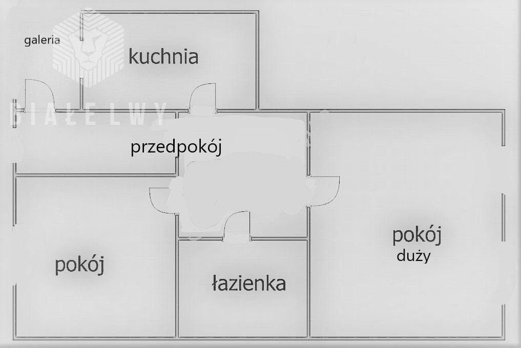 Mieszkanie dwupokojowe na sprzedaż Warszawa, Śródmieście Mirów, Ptasia  55m2 Foto 6