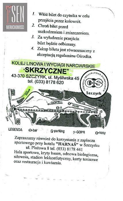 Działka inwestycyjna na sprzedaż Szczyrk, Dunacie, Cicha  3420m2 Foto 11