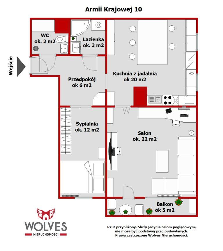 Mieszkanie trzypokojowe na sprzedaż Białystok, Os. Leśna Dolina, Armii Krajowej  64m2 Foto 11